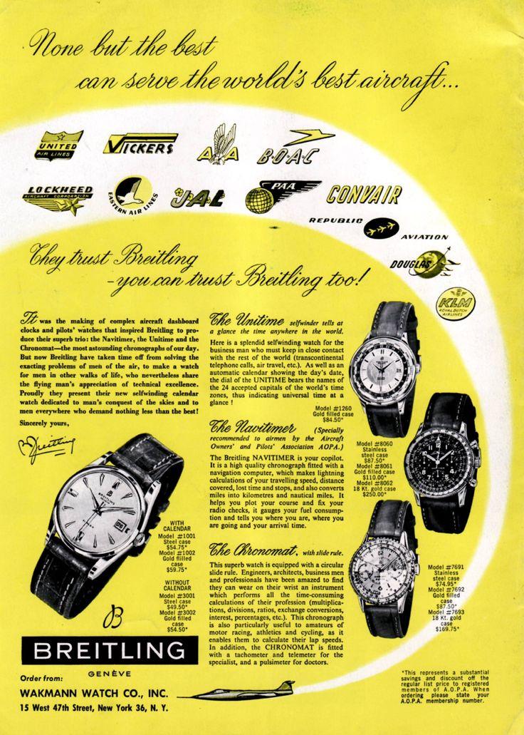 Breitling Chronograph Silver Ref. 765 — Vesper & Co.