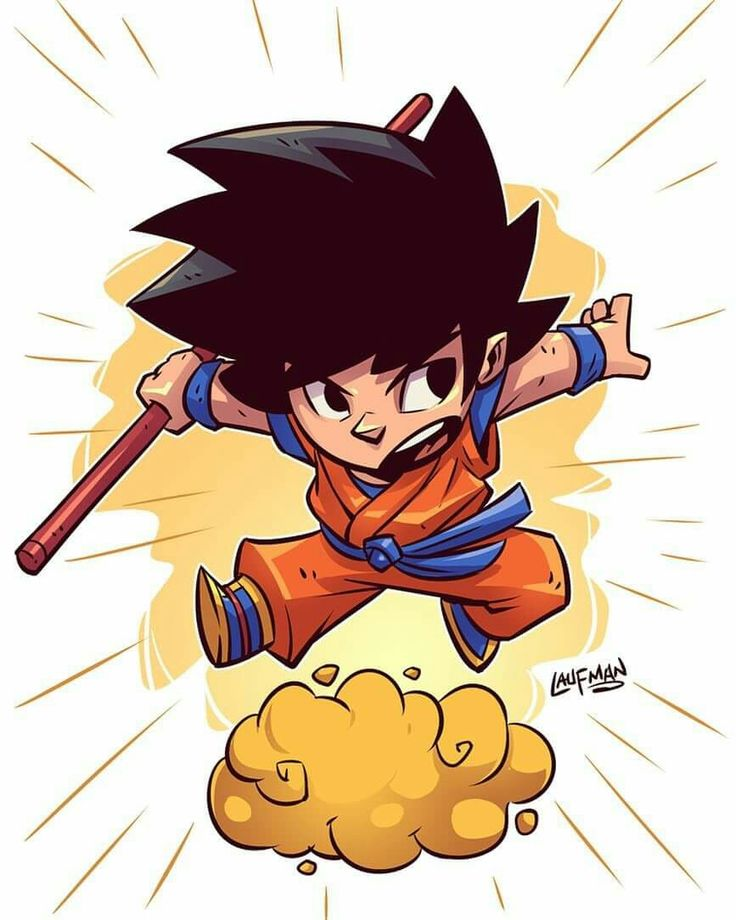 Goku Laufman art