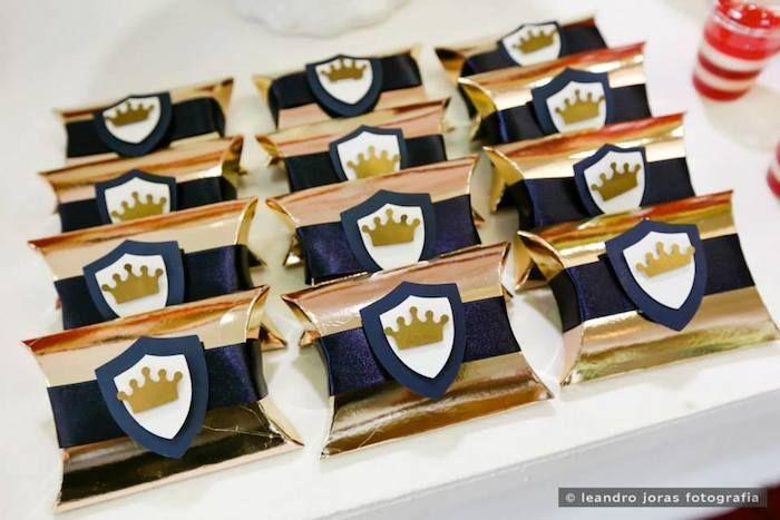 Royal Prince 1st birthday party via Kara's Party Ideas KarasPartyIdeas.com Cake, decor, cupcakes, favors, printables, and more! #princeparty #royalprince #littleprince (24)
