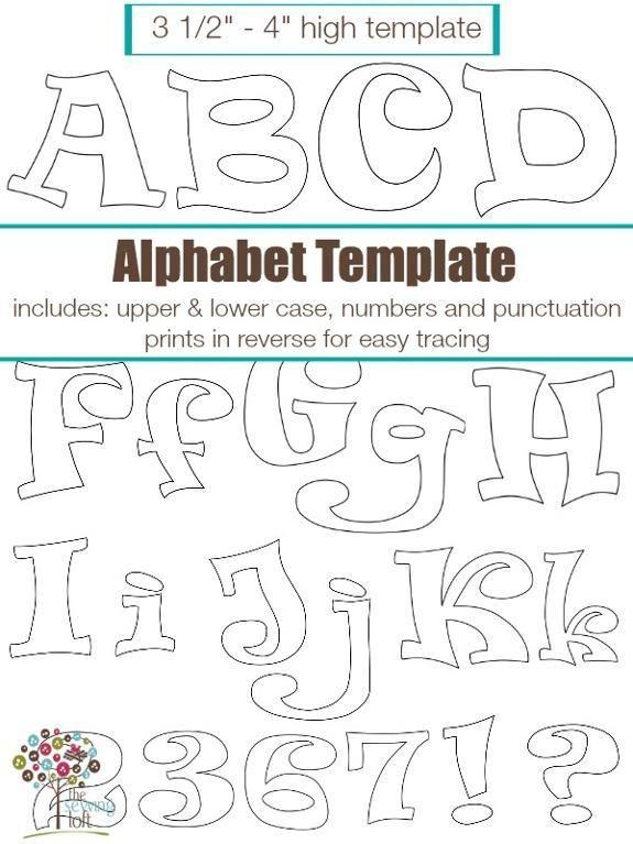 Best 25+ Applique letters ideas on Pinterest Fabric letters - free letters templates