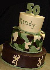 Camo cake for my boys 26th bday in November