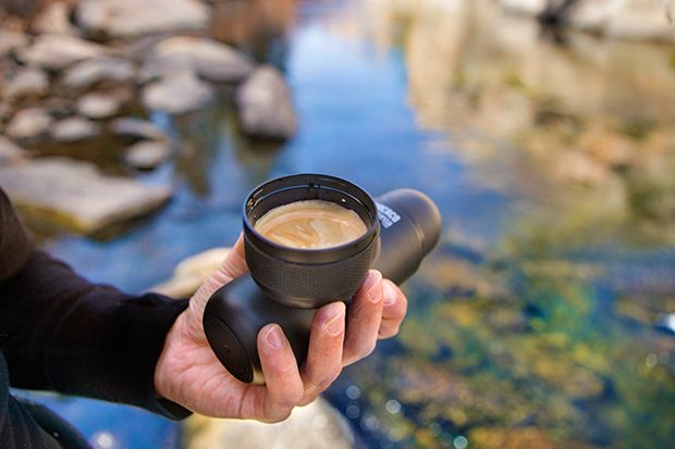 Cafeteira portátil Minipresso NB - marca Wacaco