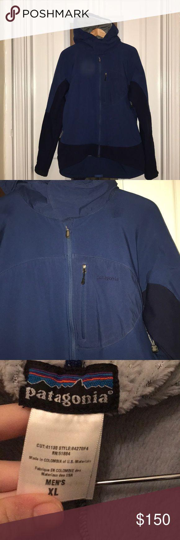 Blue Patagonia ski jacket Excellent condition. No flaws Patagonia Jackets & Coats Ski & Snowboard