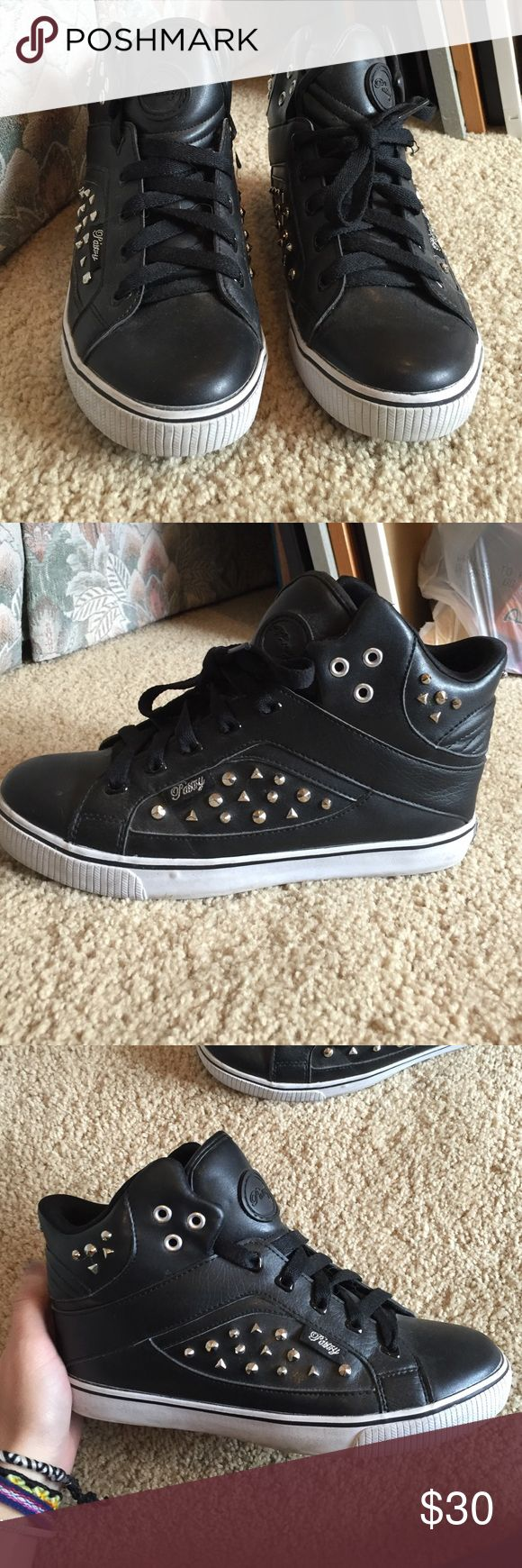 Studded Sneakers Never worn, studded sneakers, size 7 pastry Shoes Sneakers