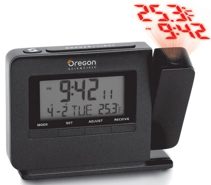Atomic Projection Clock with Indoor Temperature