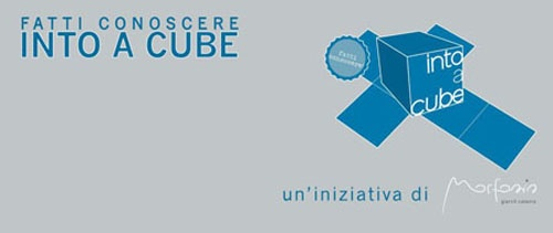 Into a Cube. Un cubo per farsi conoscere