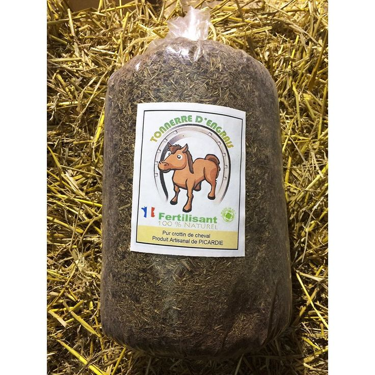Tonnerre d'engrais est un fertilisant naturel réalisé à 100 % avec du pur crottin de cheval. Il ne contient aucun additif, conservateur ou produit pharmaceutique et est utilisable sur tous les sols, à n'importe quelle saison et pour tous types de plantes !