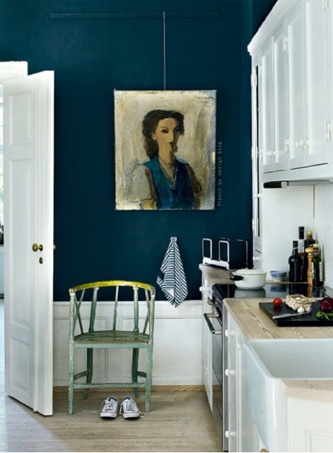 TRACIE ELLIS DESIGN- gorgeous wall color