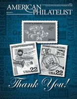 """April 2014 issue - Feature article """"Die Wacht am Rhein: Collecting & Researching German World War I Postal History""""."""