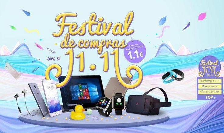 Llega el Festival de Compras 11.11 de Igogo, oportunidad única con grandes ofertas en smartphones y otros dispositivos tecnológicos. ¡Aprovecha y ahorra!