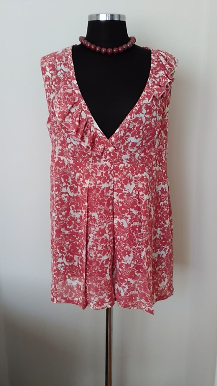 Plus size Clothing Plus size Tunic Maternity Tunic Terra-Cotta&White Floral…