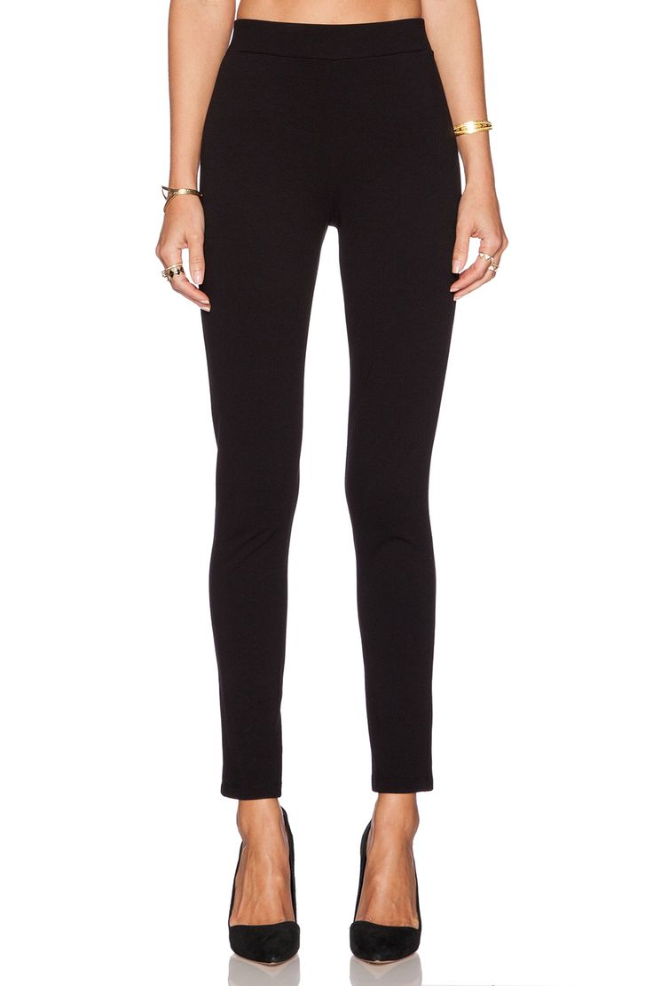 Theory Shawn C Legging in Black | REVOLVE