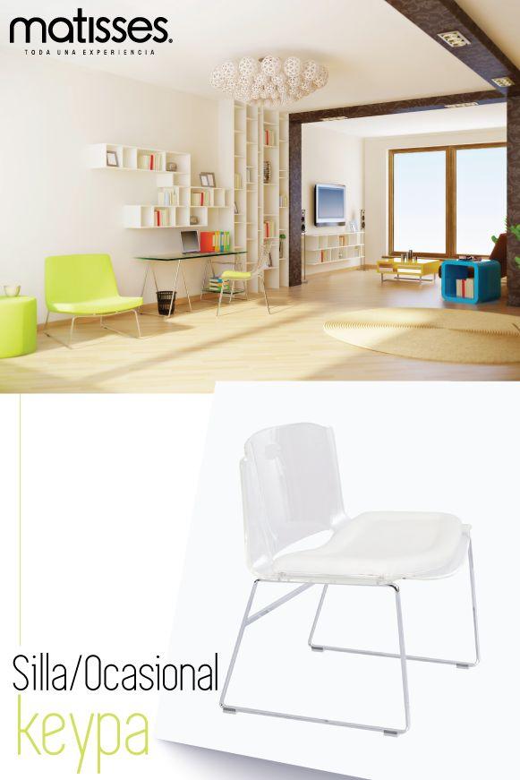 Para los espacios de trabajo, el mobiliario con diseño innovador resulta ser el mejor atractivo. Incluye sillas ocasionales con líneas rectas y estilo moderno.