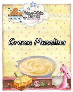 La crema Muselina es una variante de la crema Pastelera, ya que es la misma pero añadiéndole mantequilla.       La crema muselina nos s...