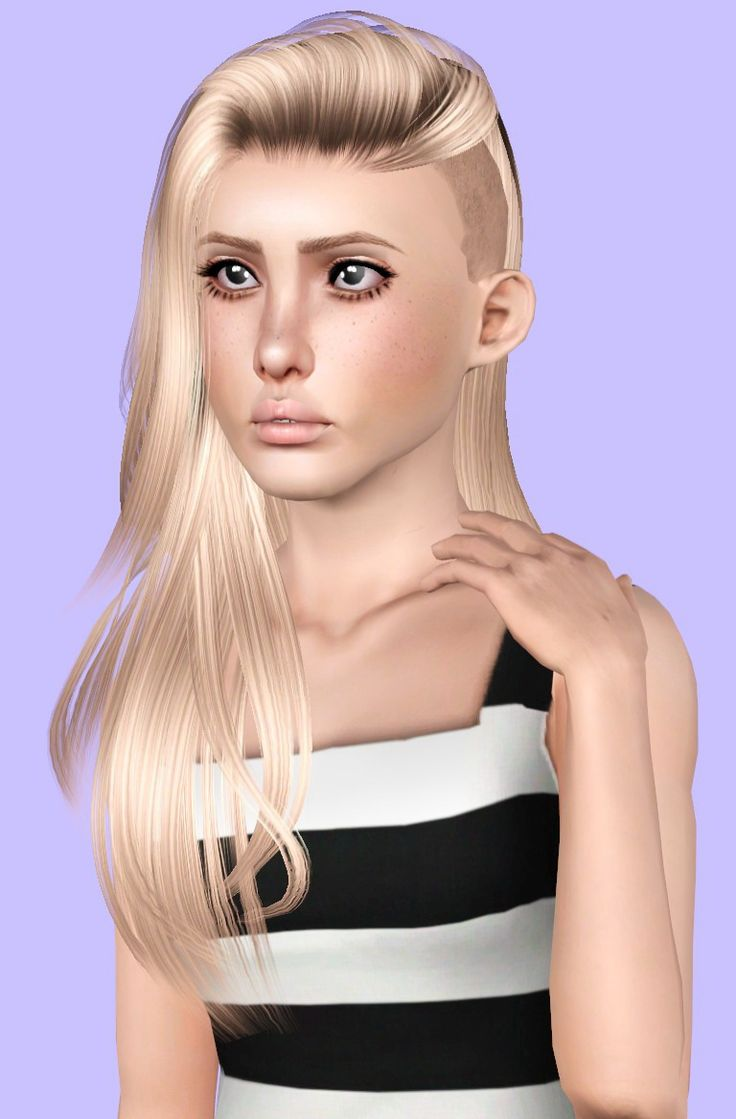 206 best images about sims 3 on pinterest dots sims 4 and warm - Raonjena 36 Shaved Hairstyle Retextured By Plumb Bombs For Sims 3 Sims Hairs Http