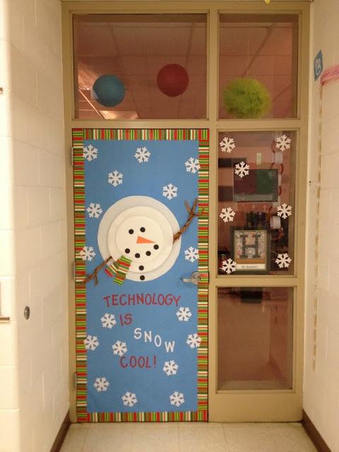 Super Cute Winter Door School Doors Classroom Themes