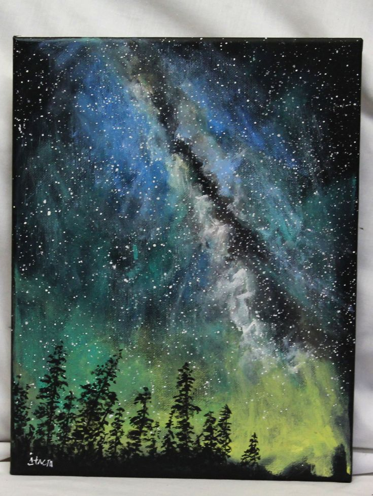 10 best ideas about acrylic art on pinterest diy tree for Black and white acrylic painting techniques