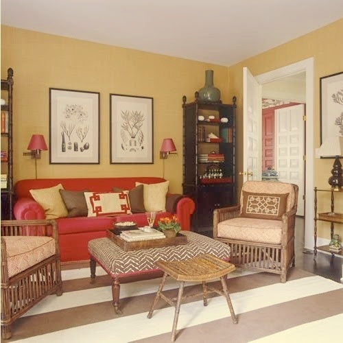 Living Room Ideas With Red Sectional: Best 25+ Red Sofa Decor Ideas On Pinterest