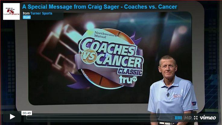 Leukemia Patient Craig Sager Returns to Promote Charity!  - http://www.mustwatchnow.com/leukemia-patient-craig-sager-returns-promote-charity/