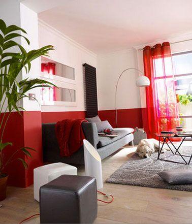 33 best images about decor on pinterest - Salon blanc et gris ...