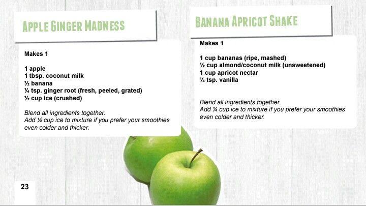 Ashy Bines Fruit Smoothie