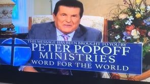 """Just saw a commercial for Peter Popoff's """"Miracle Water"""" I thought this guy was exposed and ruined by James Randi, but apparently he's still scamming people."""