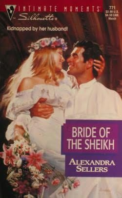 book cover of     Bride of the Sheikh      (Sons of the Desert, book 1)    by    Alexandra Sellers
