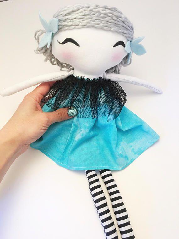 Rag doll / handmade doll / nursery decor / baby shower gift /