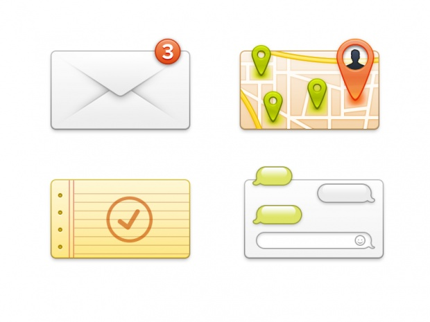 Some Icons, Email, Free, Graphic Design, Icon, PSD, Resource, Retina, Vector