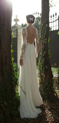 vintage backless dress..