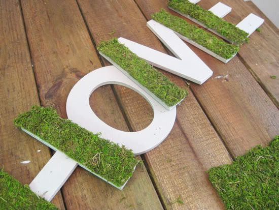 moss letters,moss covered letters,oh louise,oh louise blog,DIY moss