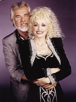 "Kenny Rogers & Dolly Parton...Country Royalty, Duet Partners...A Twosome to Remember For the Ages On the Barry Gibb Pinned, ""Islands In the Stream""--Still My Favorite Duet of ALL TIME and Dolly Is, Definately, One of My Favorite People!!"