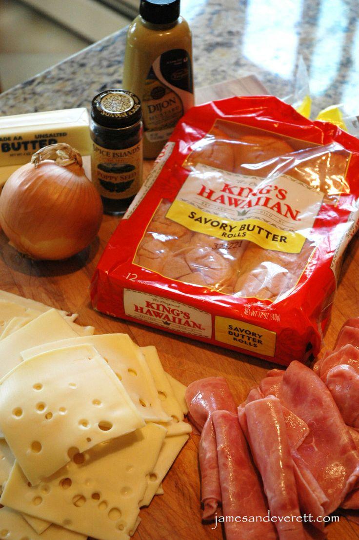 King's Hawaiian Ham & Swiss Rolls | James & Everett