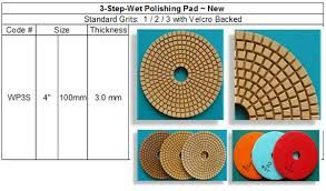 Image result for 3 step polishing pads