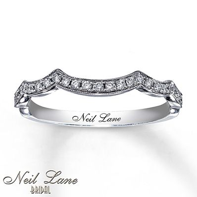 Best 25 neil lane wedding rings ideas on pinterest engagement neil lane wedding band 15 ct tw diamonds 14k white gold junglespirit Choice Image