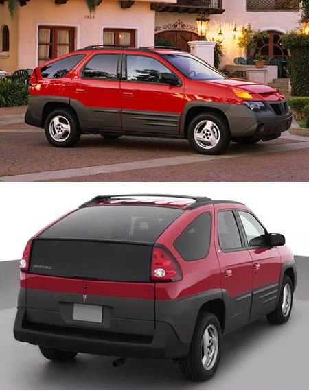 10 Ugliest Cars Ever Built (ugly cars) - ODDEE. The Pontiac Aztek was the first crossover offered by General Motors, from 2001 to 2005
