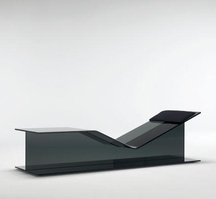 I-Beam chaise | Jean-Marie Massaud for Glas Italia