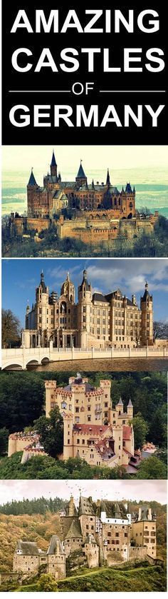 Castles in Germany are nothing short of amazing. Check out these photos of Neuschwanstein Castle, Heidelberg Castle and more.