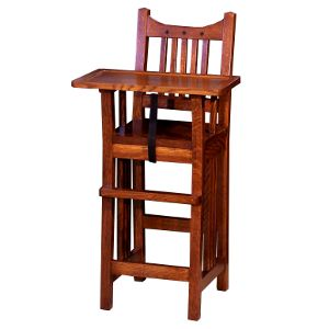 amish royal mission baby high chair usa made eco friendly baby nursery furniture