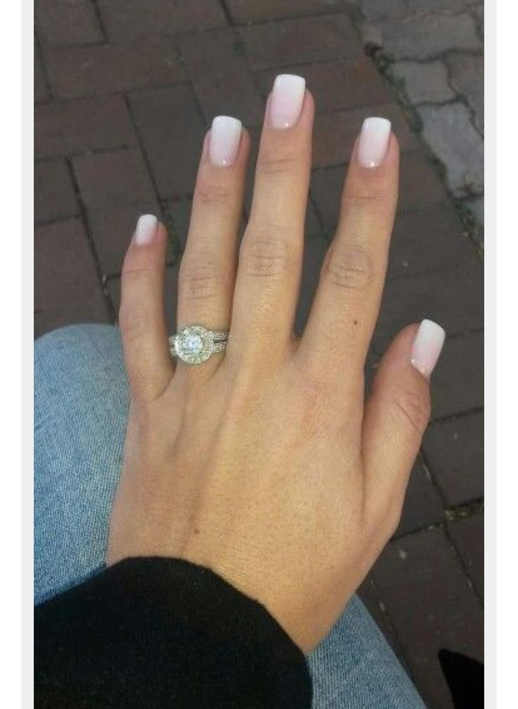 25 Best Ideas About Natural French Manicure On Pinterest Natural Wedding Nails French
