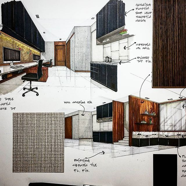 Interior Design Office Sketches 764 best interior design sketch images on pinterest | interior
