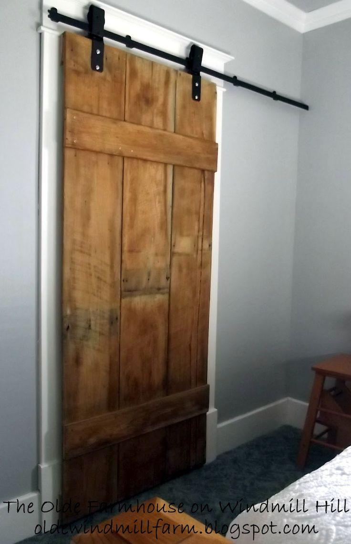 80 best Reclaimed Wood Doors images on Pinterest | Accent walls ...