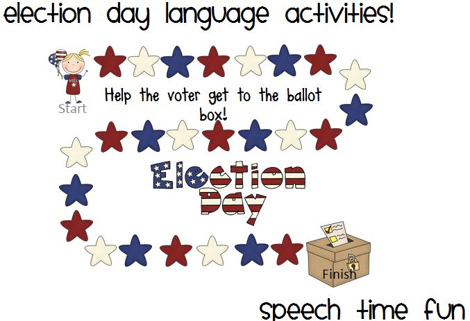 election day comprehension worksheets | just b.CAUSE