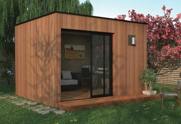 Bureau de jardin CAPRI-7 (le petit bureau de jardin) | Jardin et ...