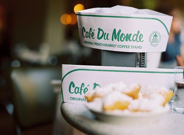 Cafe du Monde... a New Orleans staple!