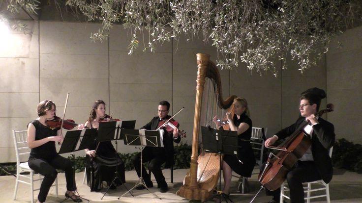 Pachelbel Canon in D Major String quartet with harp