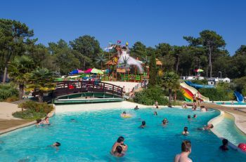 Camping Gironde - Camping Côte d'Argent 5 * - Camping de France haut de gamme du Club Airotel. #airotel #camping #vacances