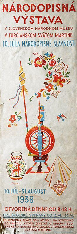 Web umenia | Ľudovít Fulla - Národopisná výstava v Turčianskom svätom Martine