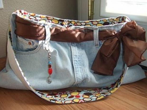 transformando jeans velhos em bolsa para notebook