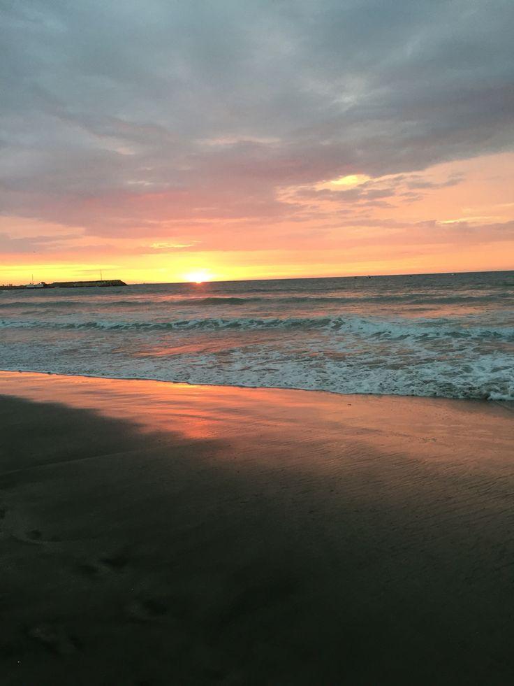 Punta Blanca Ecuador Sunset